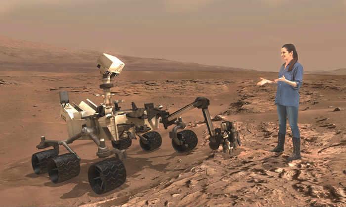 Экскурсии по Марсу будут проводят с помощью очков дополненной реальности