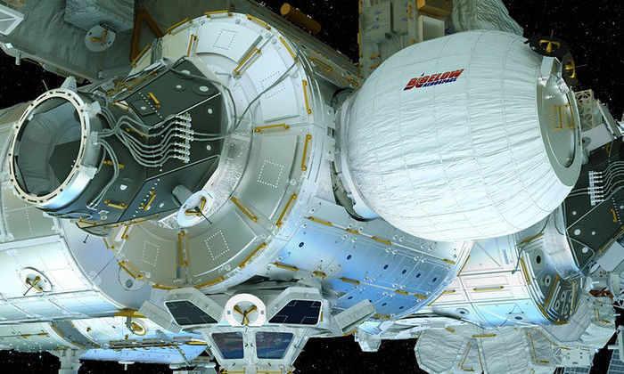 Видео: к МКС пристроят надувной жилой модуль (обновление)