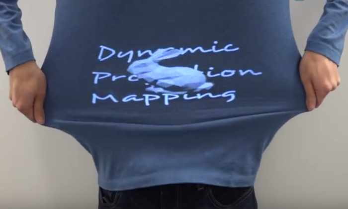 Проектор будущего: видео на одежде станет реальностью
