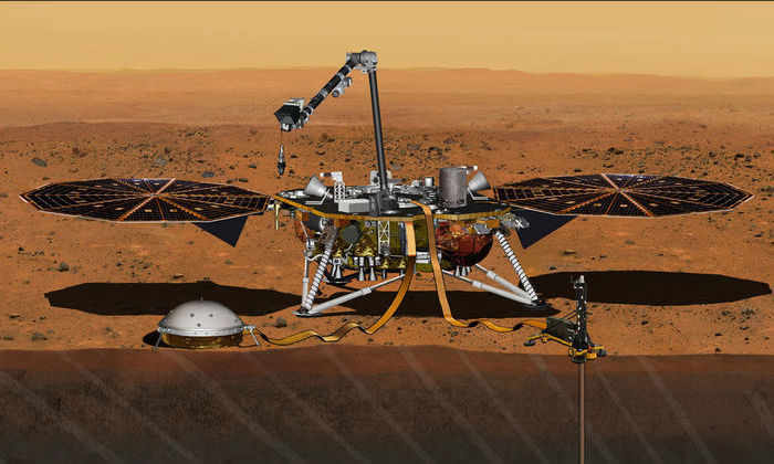 НАСА объявило дату запуска нового аппарата, который спустится на поверхность Марса