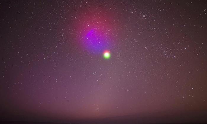NASA создаст разноцветные облака в прямом эфире