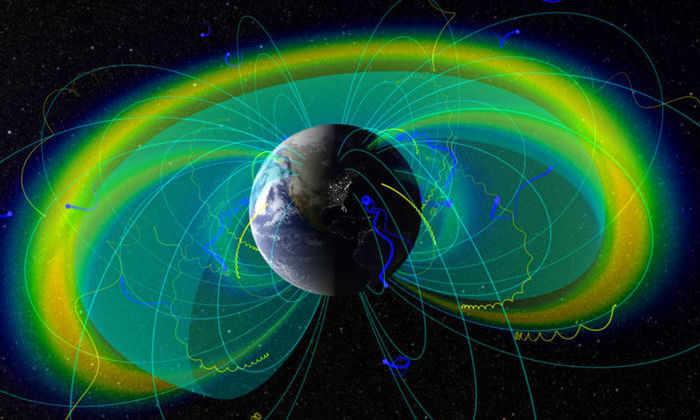 Развитие жизни на Земле подтолкнуло магнитное поле