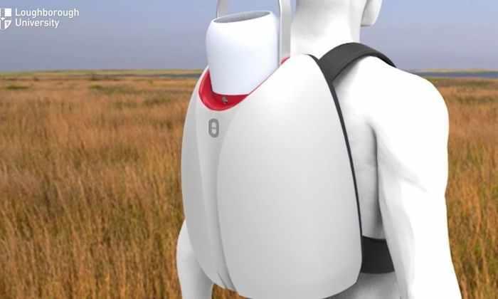 Рюкзак-холодильник поможет транспортировать вакцины и органы