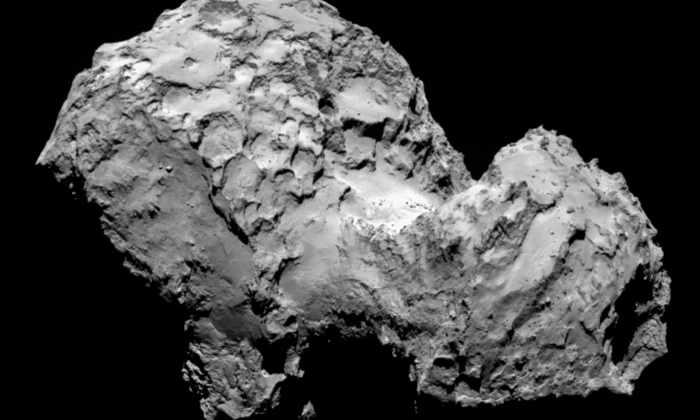 На комете Чурюмова-Герасименко нашли клатратный лед