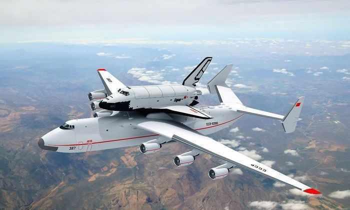 Видео: самый огромный самолет в мире - русский АН-225