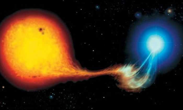 Загадочные голубые вспышки зафиксированы в системе Лебедя