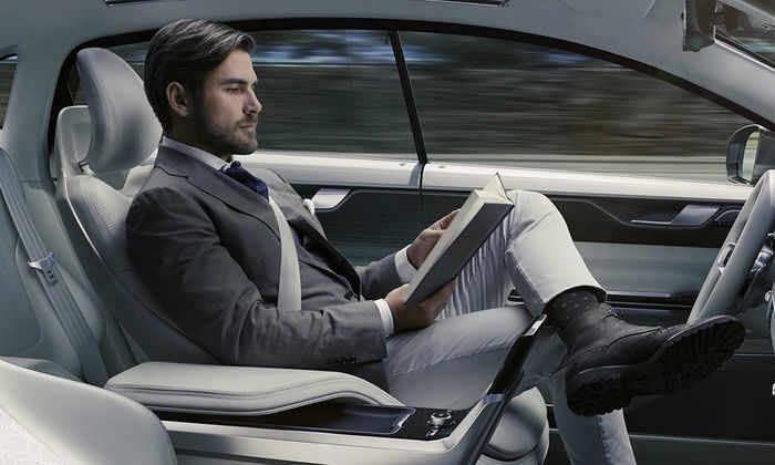 Видео Volvo выпустила новый ролик полностью автономного суперавтомобиля Volvo Autonomous Super-Car