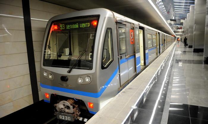 Поезд московского метро