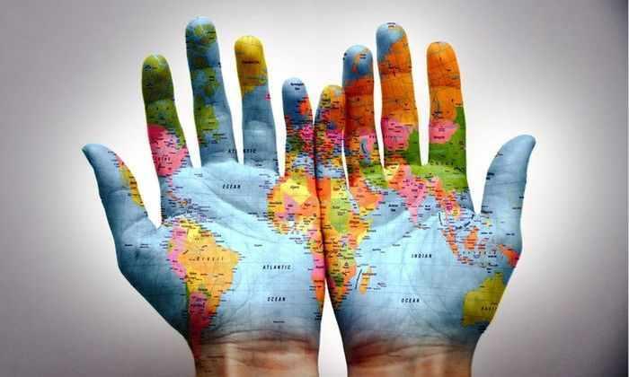 Японский дизайнер создал самую точную карту в мире