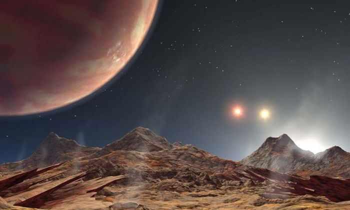 Астрономы открыли солярную систему из трех звезд