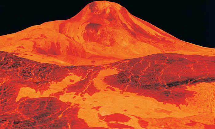 На Венере обнаружили свежую лаву