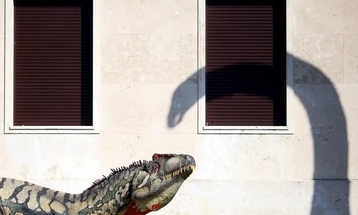 Динозавры в современном искусстве
