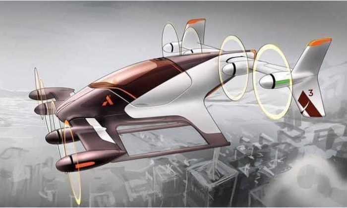Прототип беспилотного летающего автомобиля испытают в 2017 году