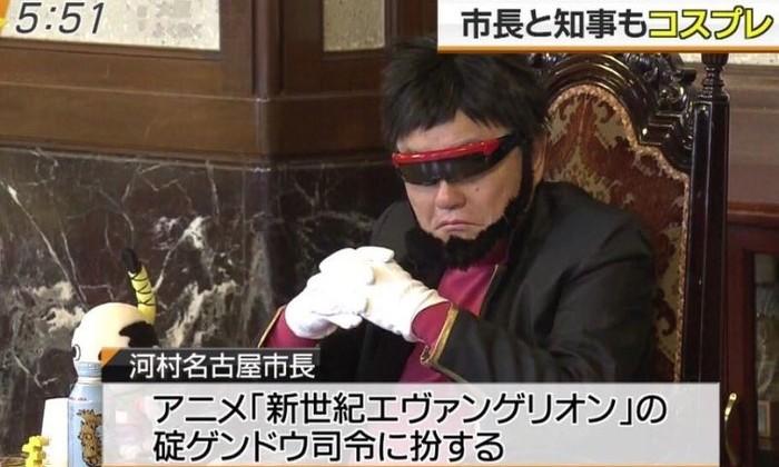 Японские политики косплеят персонажей аниме