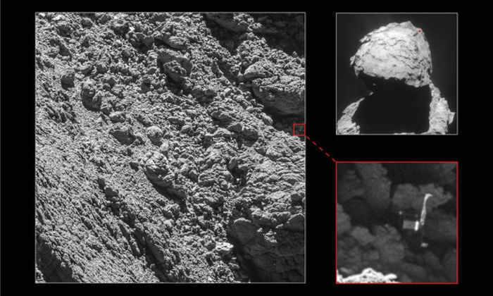 Ученые нашли космический аппарат, потерянный на комете 2 года назад