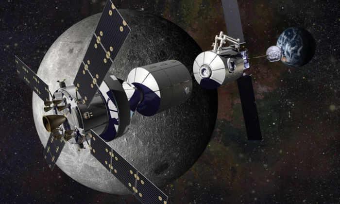 НАСА построит «международную» базу у Луны к 2023 году