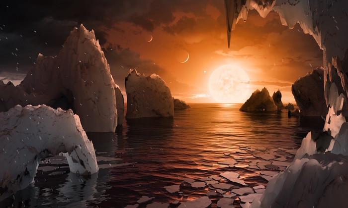 Система экзопланет TRAPPIST-1