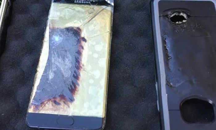 В США сгорели Samsung Galaxy Note 7 из «безопасной» партии