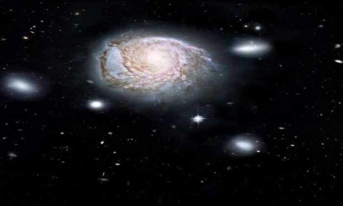 Ученые поведали, как погибает галактика воВселенной