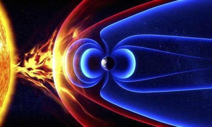 Около магнитного поля Земли обнаружены высокоскоростные электроны