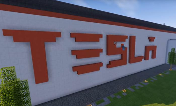 Литовские энтузиасты привлекли внимание Илона Маска с помощью Minecraft