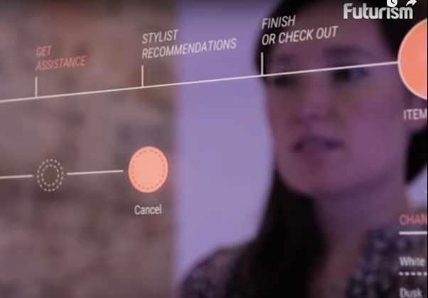 Видео: интерактивная примерочная устранит необходимость разъезжать по магазинам.