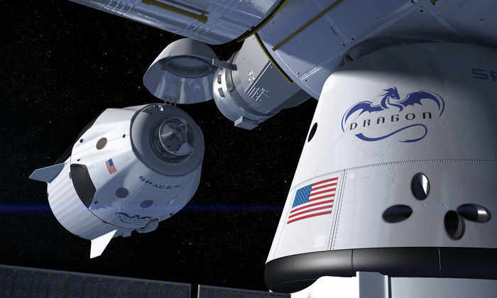SpaceX в 2017 году начнет отправлять к МКС многоразовые корабли Dragon