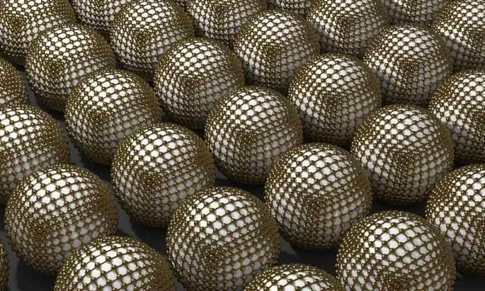 Ученые впервые использовали золото для производства наночастиц
