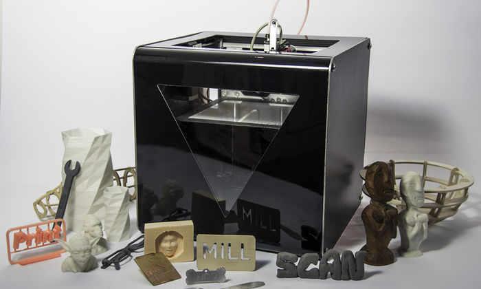 Видео: создан универсальный 3-D принтер