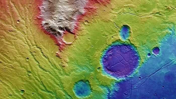 Ландшафт Марса