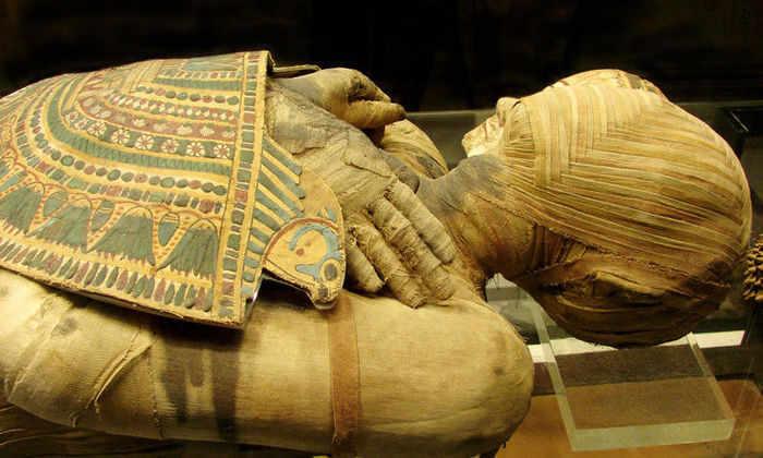 Археологи прочитали тексты на мумиях с помощью рентгеновских лучей