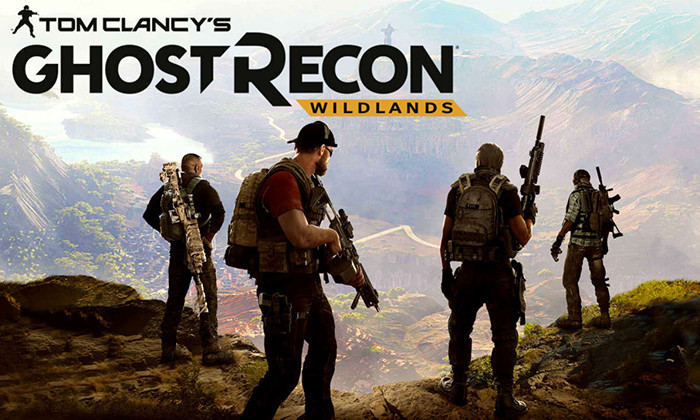 Обложка и логотип Tom Clancy's Ghost Recon: Wildlands