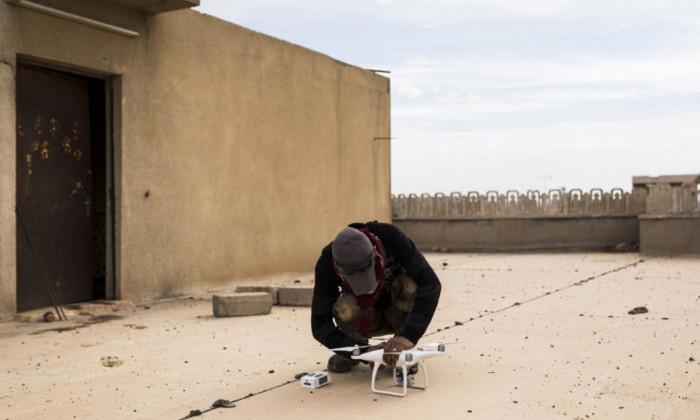 Китайский производитель запретил своим дронам летать на Сирией и Ираном