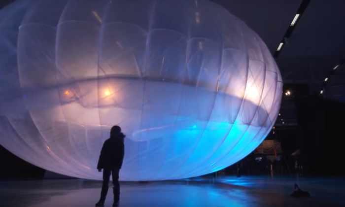 Google разнесет интернет по всему миру с помощью воздушных шаров