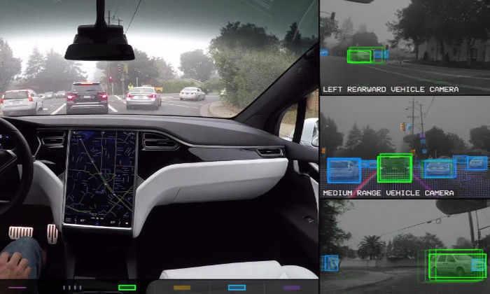 Tesla показала на видео, как выглядит мир для автопилота