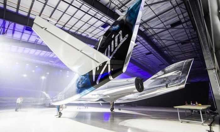Видео: первый туристический полет в космос от Virgin Galactic