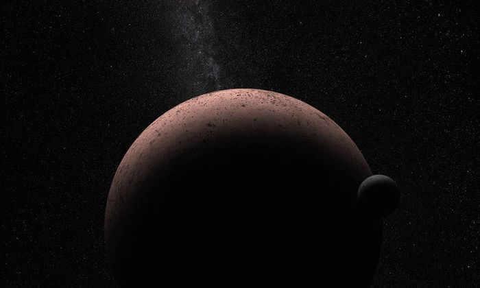 Астрономы обнаружили спутник карликовой планеты Макемаке
