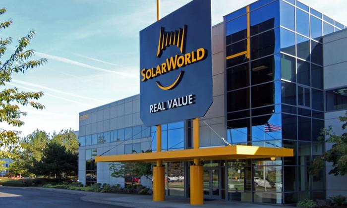 Крупнейший немецкий производитель солнечных батарей Solarworld обанкротился