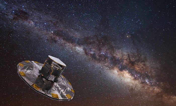 Телескоп Gaia измерил расстояния до млрд. звезд Млечного пути