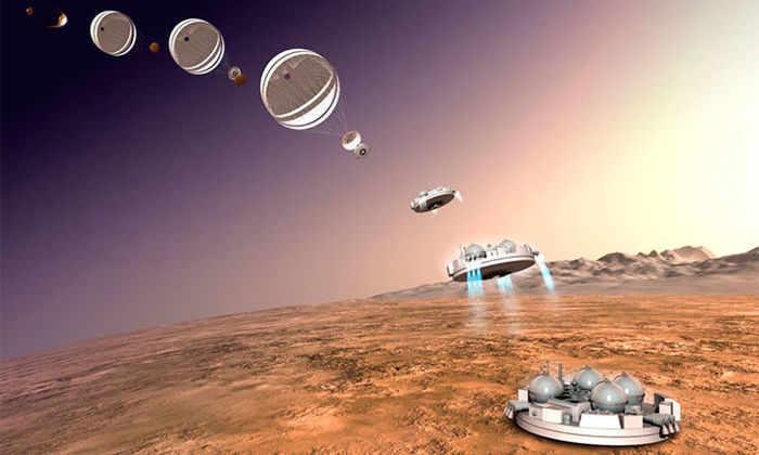 Посадку «Скиапарелли» на Марс 19 октября покажут в прямом эфире