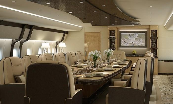 8 самых дорогих в мире частных самолетов. Какие они внутри