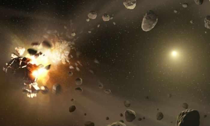 Огромный, незамеченный астрономами астероид пролетел довольно близко от Земли