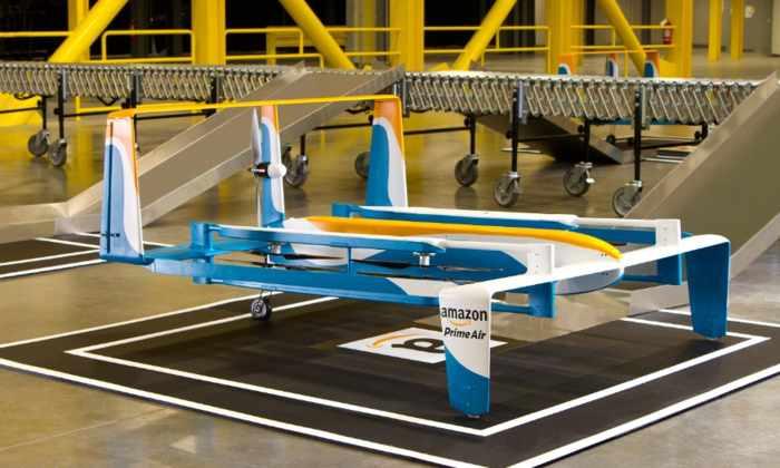 Amazon: первая беспилотная доставка – done!