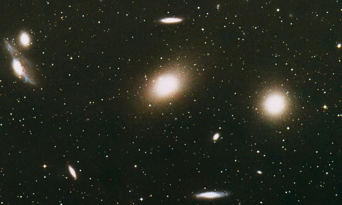 Сверхмассивные черные дыры обнаружены в карликовых галактиках