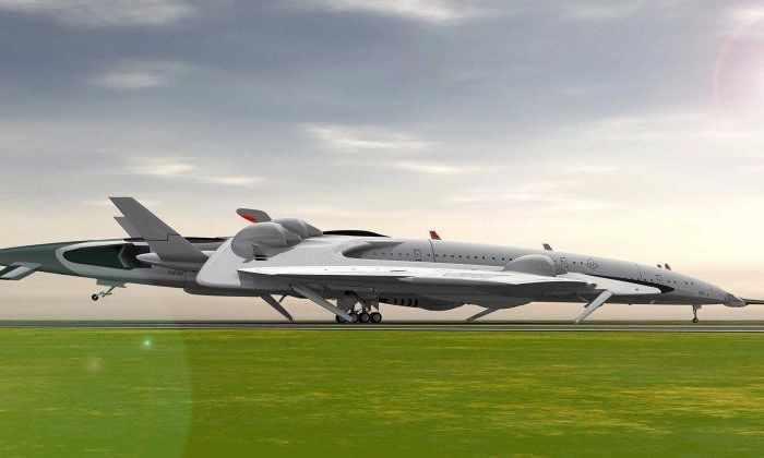 Видео: этот сверхзвуковой самолет выполнит рейс Лондон-Нью-Йорк за 2,5 часа