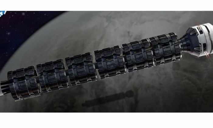 Космический поезд доставит до Луны за 2 минуты
