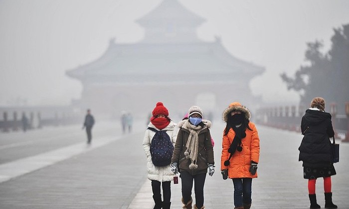 Дым в Пекине