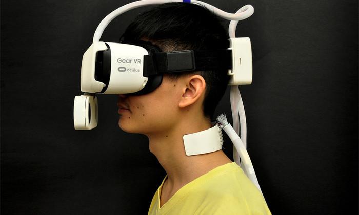 Новый аксессуар позволил ощущать ветер и солнце в виртуальной реальности