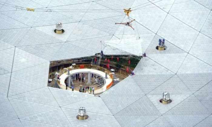 Китай завершил строительство самого большого телескопа в мире