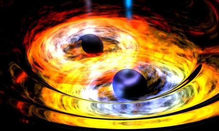 Гравитационные волны от слияния двух черных дыр возникают в 100 раз быстрее, чем считали ранее